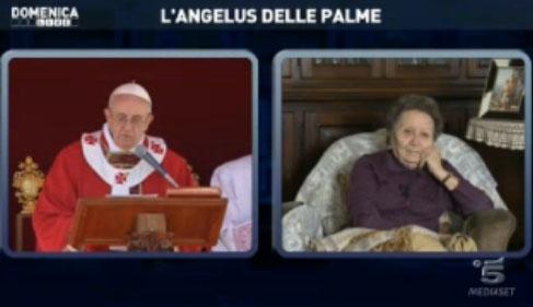 Domenica Live, Barbara D'Urso pazza di Papa Francesco; in collegamento la cugina – FOTO