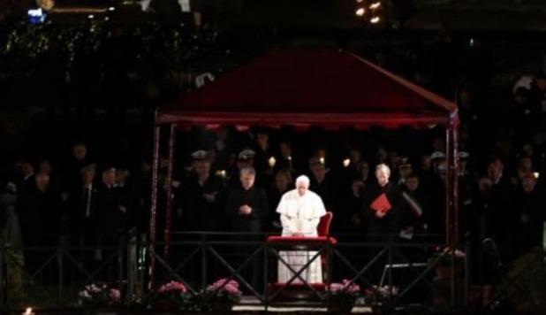 Ascolti Tv, 29 marzo 2013: prima Via Crucis di Papa Francesco a 7 mln; Occhio a quei due a 2,1 mln; Quarto Grado a 1,4 mln