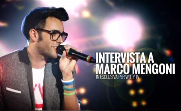 Marco Mengoni intervistato in esclusiva da WittyTv, la web tv di Maria De Filippi, in attesa di Amici 12 – VIDEO