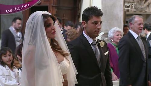 """Guendalina Tavassi si sposa in diretta su RaiUno: """"E' incinta!"""" – FOTO"""
