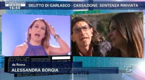 """Pomeriggio Cinque sul delitto di Garlasco; Paolini all'attacco: """"Barbara specula sulla vita delle donne uccise"""""""