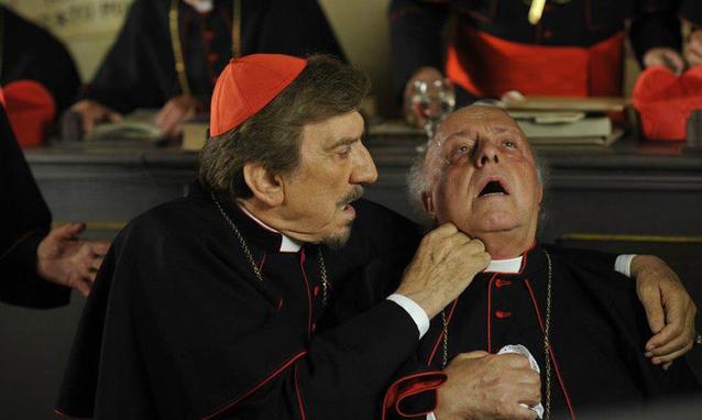 L'ultimo Papa Re, stasera e domani su RaiUno la mini serie con Gigi Proietti – FOTO