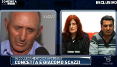 Ergastolo per Sabrina e Cosima: a Domenica Live i genitori di Sarah Scazzi e intervista a Michele Misseri – FOTO