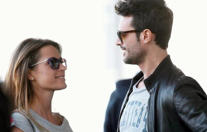 Alessandro Pess in giro per Roma con la fidanzata Rossella