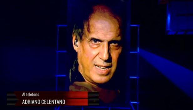 Servizio Pubblico: la telefonata di Adriano Celentano in diretta tv – VIDEO