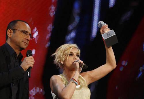 Wind Music Awards 2013: in onda il 3 giugno su RaiUno con Carlo Conti e Vanessa Incontrada