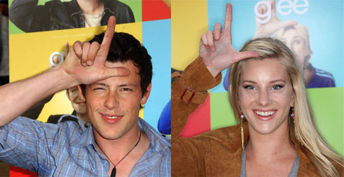 Glee: Cory Monteith in rehab, Heather Morris incinta