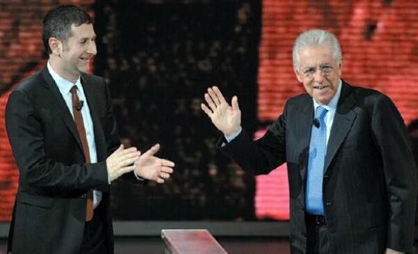 Che tempo che fa, puntata di domenica 14 aprile: Kevin Powers e Mario Monti gli ospiti