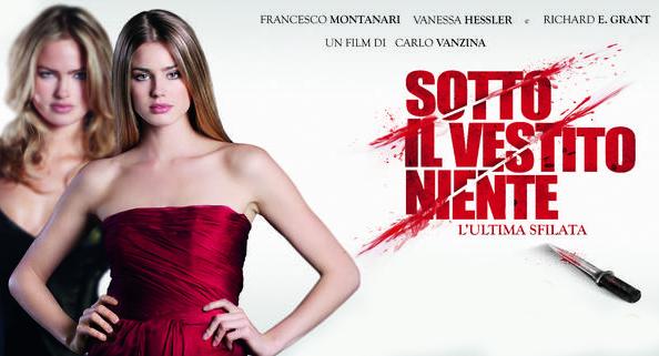 Film in TV: Sotto il vestito niente – L'ultima sfilata, stasera alle 21.10 su Canale 5