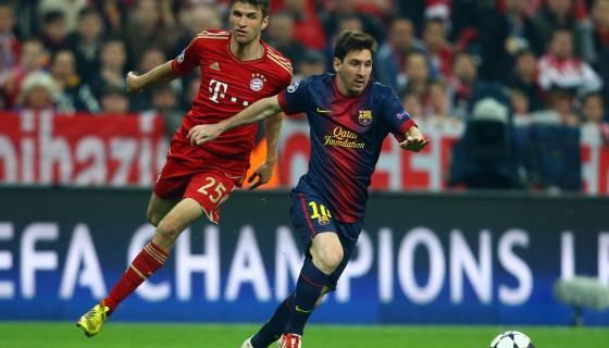 Calcio in Tv, Champions League: stasera Barcellona-Bayern Monaco su Canale 5, Mediaset Premium e Sky