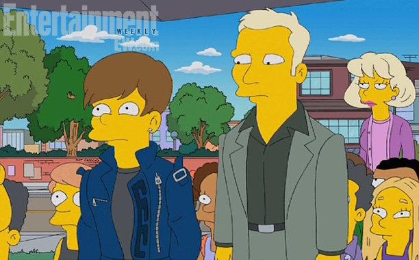 Justin Bieber nei Simpson, escluso da un talent show