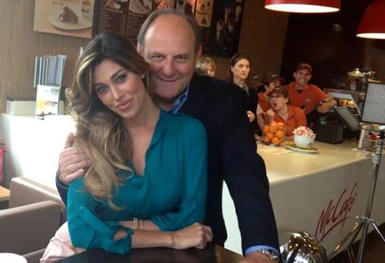 Belen Rodriguez torna in TV con il nuovo spot Mc Donald's insieme a Gerry Scotti