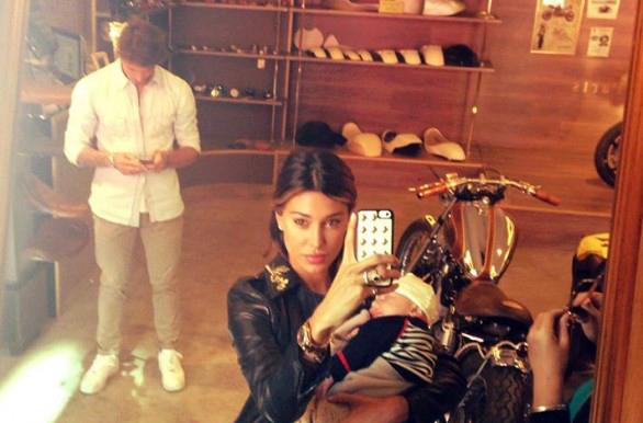 Belen Rodriguez pubblica la prima foto di Santiago