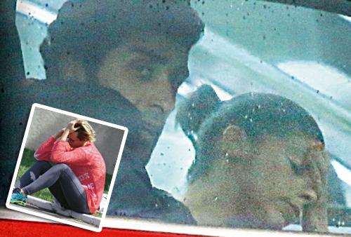 Federica Pellegrini e Filippo Magnini navigano in cattive acque e lui incontra la sua ex