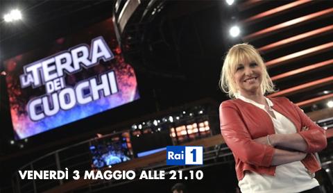 La Terra dei Cuochi, stasera la seconda puntata con Antonella Clerici su RaiUno