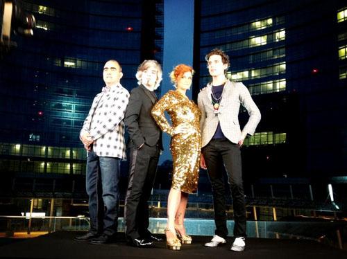 X Factor 7, i casting continuano e la giuria è ufficialmente insieme: prime FOTO e primo tweet in italiano di Mika