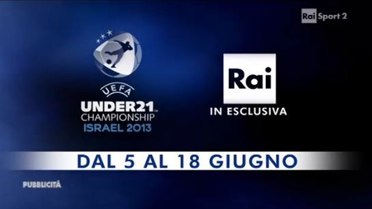 Europei Under 21 2013: il calendario completo, orari dirette tv e streaming