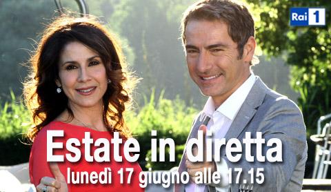 Estate in diretta, da questo pomeriggio su RaiUno con Marco Liorni e Barbara Capponi