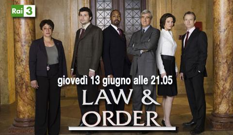 Law & Order, da stasera su RaiTre i primi episodi della 20esima ed ultima stagione