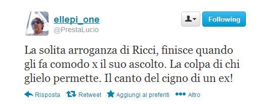 Lucio Presta contro Paperissima Sprint ed Antonio Ricci