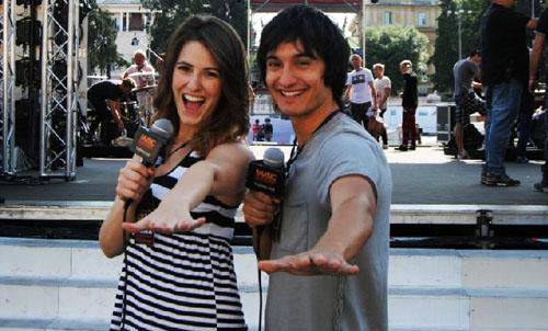 Music Summer Festival: Andrea Dianetti e Diana Del Bufalo inviati speciali nel backstage