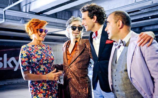 X Factor 7: Mika severissimo; Elio senza baffi; Ventura in cerca dell'originalità; Morgan ha bisogno di giocare