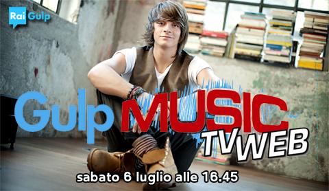Gulp Music, intervista esclusiva ad Alessandro Casillo, questo pomeriggio su Rai Gulp