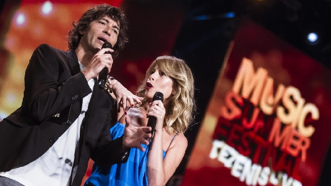 Music Summer Festival – Tezenis Live, stasera la prima puntata: da Emma a Eros Ramazzotti e Gianna Nannini