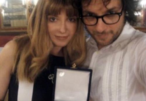 """Anna Laura Millacci: """"Massimo Di Cataldo mi picchiava per motivi futili. Ho dipinto il mio aborto"""""""