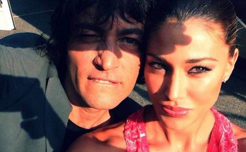 Italia's Got Talent: Belen Rodriguez vola da Simone Annicchiarico per registrare le prime puntate