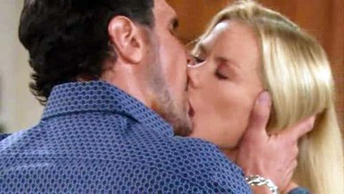 Beautiful anticipazioni: Brooke dopo l'abbandono di Ridge, seduce Bill Spencer e resta incinta