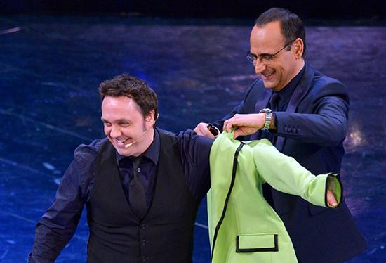 C Factor: il talent show tutto da ridere condotto da Gabriele Cirilli con Carlo Conti in giuria