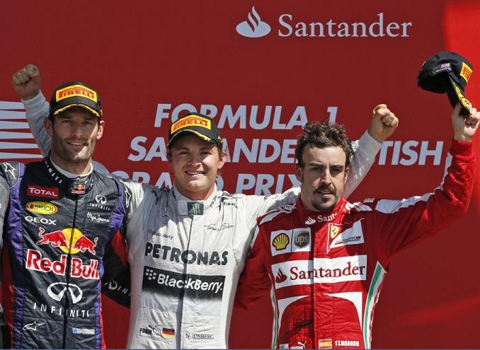 Ascolti Tv, 30 giugno 2013: Formula 1, GP di Gran Bretagna a 4,1 mln; Una grande famiglia a 2,4 mln