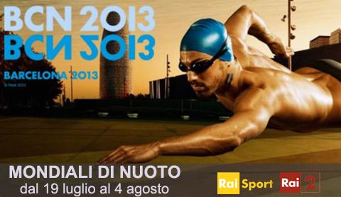 Mondiali di Nuoto 2013 in Tv: la diretta Rai e Streaming