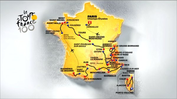 Tour de France 2013, oggi l'ultima tappa: diretta tv e streaming
