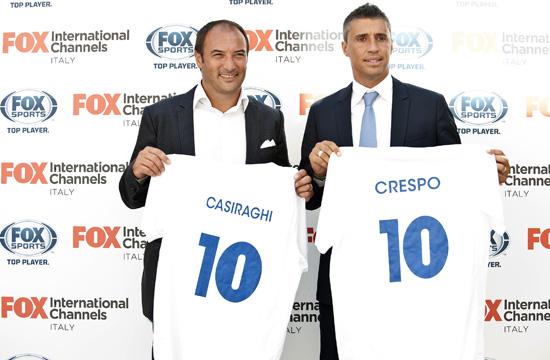 Fox Sports, il nuovo canale dedicato al calcio internazionale: al via dal 9 agosto su Sky e dal 17 su Mediaset Premium