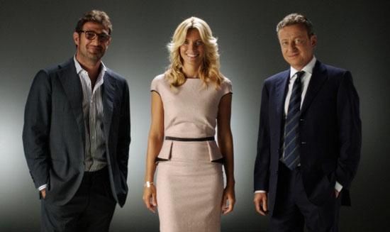 Stop & Gol, il nuovo programma della domenica calcistica di Cielo dal 25 agosto con Federica Fontana e Alessandro Bonan