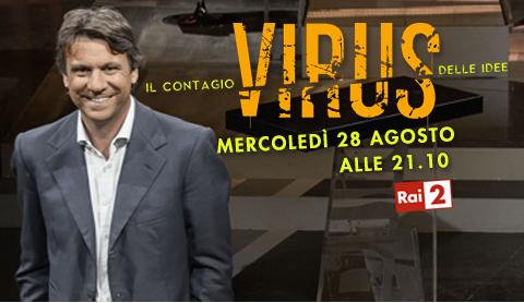 Virus, stasera su RaiDue la nuova puntata: Nicola Porro intervista Corrado Passera