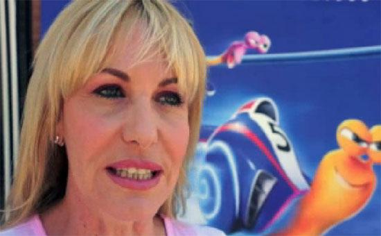 """Antonella Clerici diventa cartoon in Turbo: """"E' difficile fare la doppiatrice ma io lo faccio con ironia e umiltà"""""""