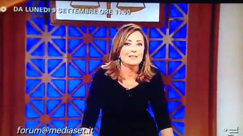 Barbara Palombelli in diretta con Forum dal 9 settembre su Canale 5 con tante novità: il VIDEO del promo