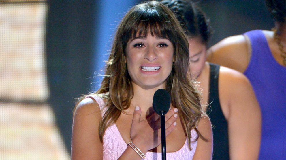 Glee, Lea Michele e la dedica a Cory Monteith ai Teen Choice Awards