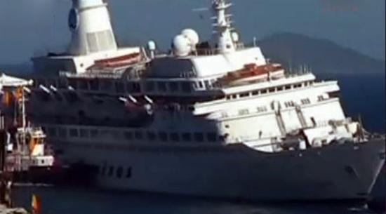 Love Boat: la mitica nave protagonista dell'omonimo telefilm verrà smantellata in Turchia – VIDEO