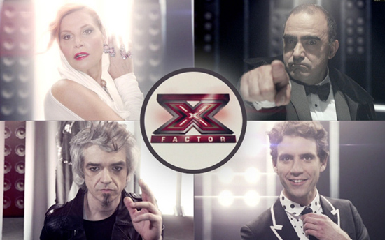 X Factor 2013: il promo con Mika, Simona Ventura, Elio e Morgan – VIDEO