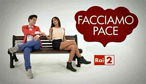 Facciamo Pace, stasera su RaiDue con Federica Nargi e Niccolò Torielli: ospite Paola Perego