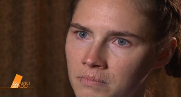 Quarto Grado, stasera su Rete 4 la prima intervista ad Amanda Knox a una tv italiana – VIDEO