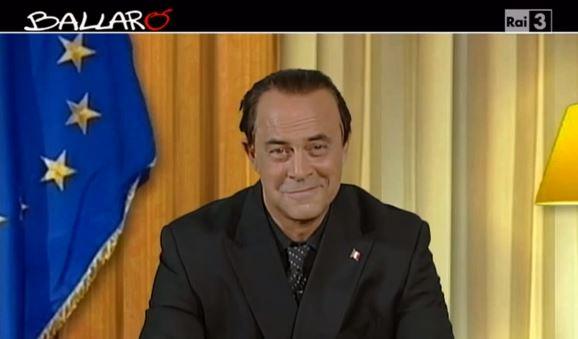 Ballarò puntata del 17 settembre, copertina satirica di Maurizio Crozza: il videomessaggio di Berlusconi – VIDEO