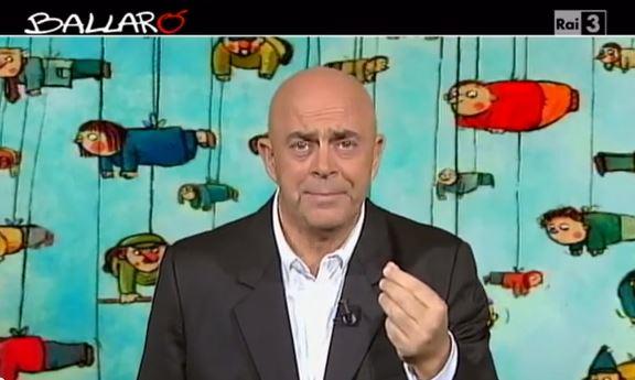Ballarò puntata del 24 settembre, copertina satirica di Maurizio Crozza sull'Italia in vendita – VIDEO