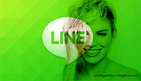 Emma Marrone testimonial dell'app Line, la rivale di WhatsApp. Da domenica 15 settembre gli spot in TV e sul Web