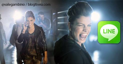 Emma Marrone protagonista degli spot di Line, e su Facebook si festeggiano i 2 milioni di fan – VIDEO