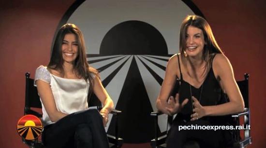 Pechino Express 2, le modelle: la scheda di Francesca Fioretti e Ariadna Romero